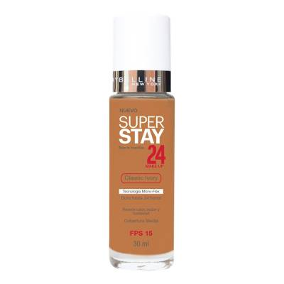 2c6e40a98 Maybelline Superstay 24HRS 21 Nude Beige Frasco dispensador – base ...