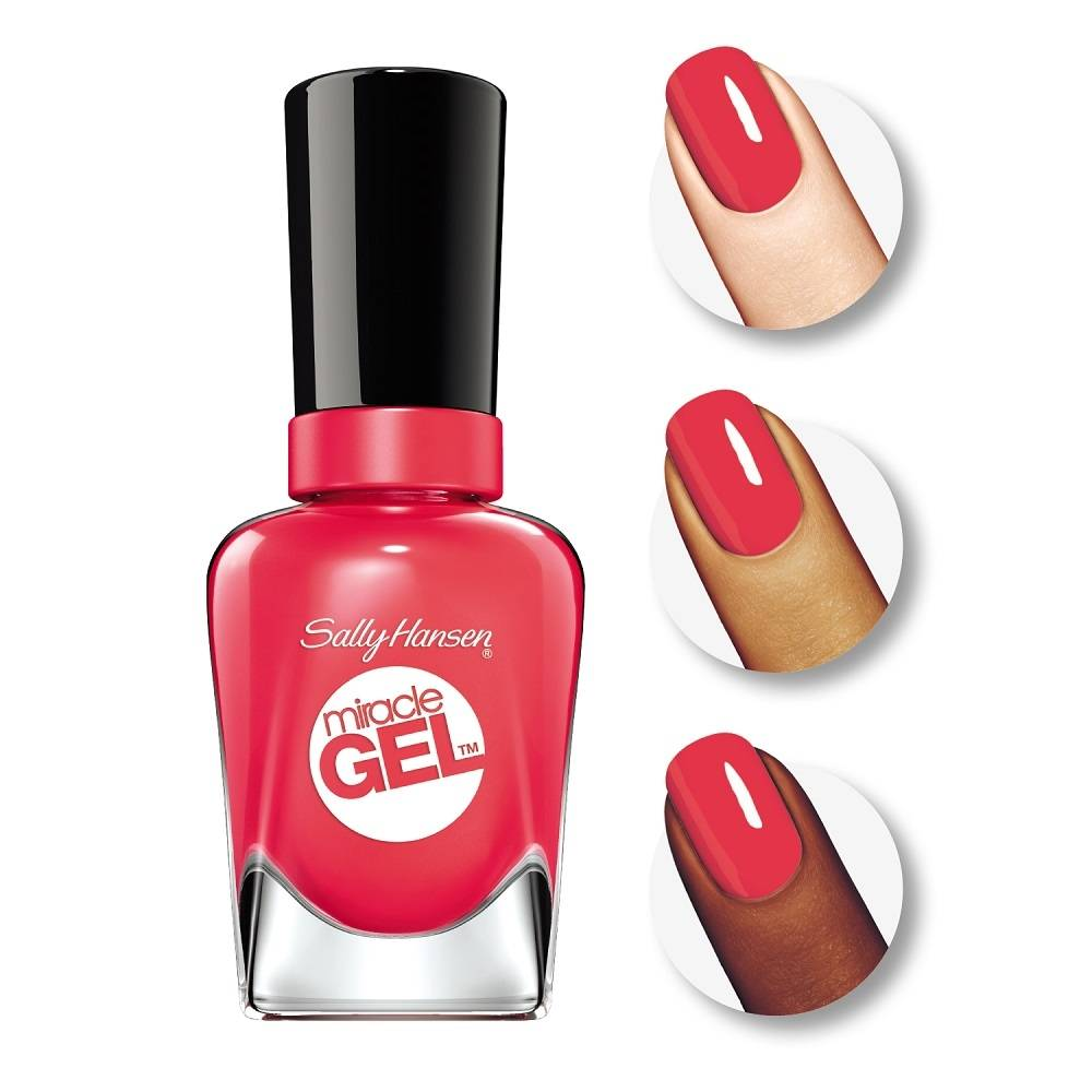 c19007087 Esmalte de uñas Sally Hansen Miracle Gel 330 redgy 14.7 ml | Walmart