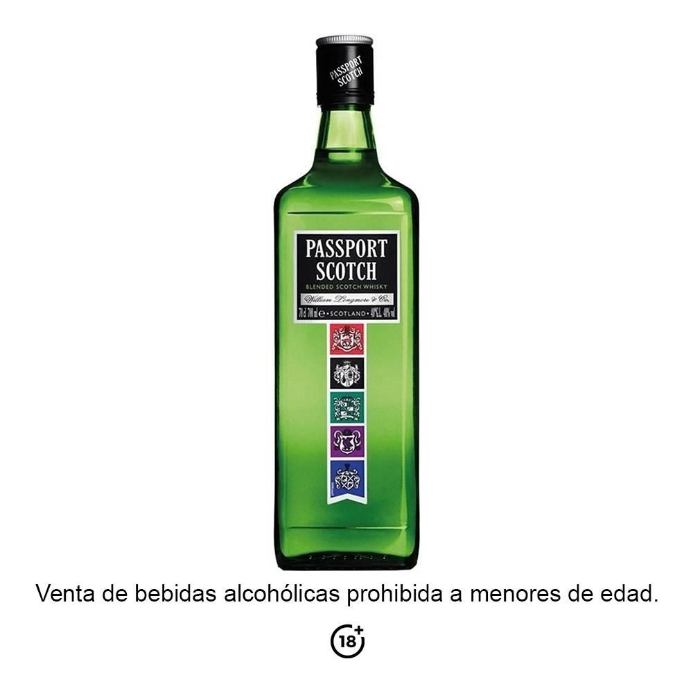 Whisky Passport Scotch escocés 700 ml 375219603ed