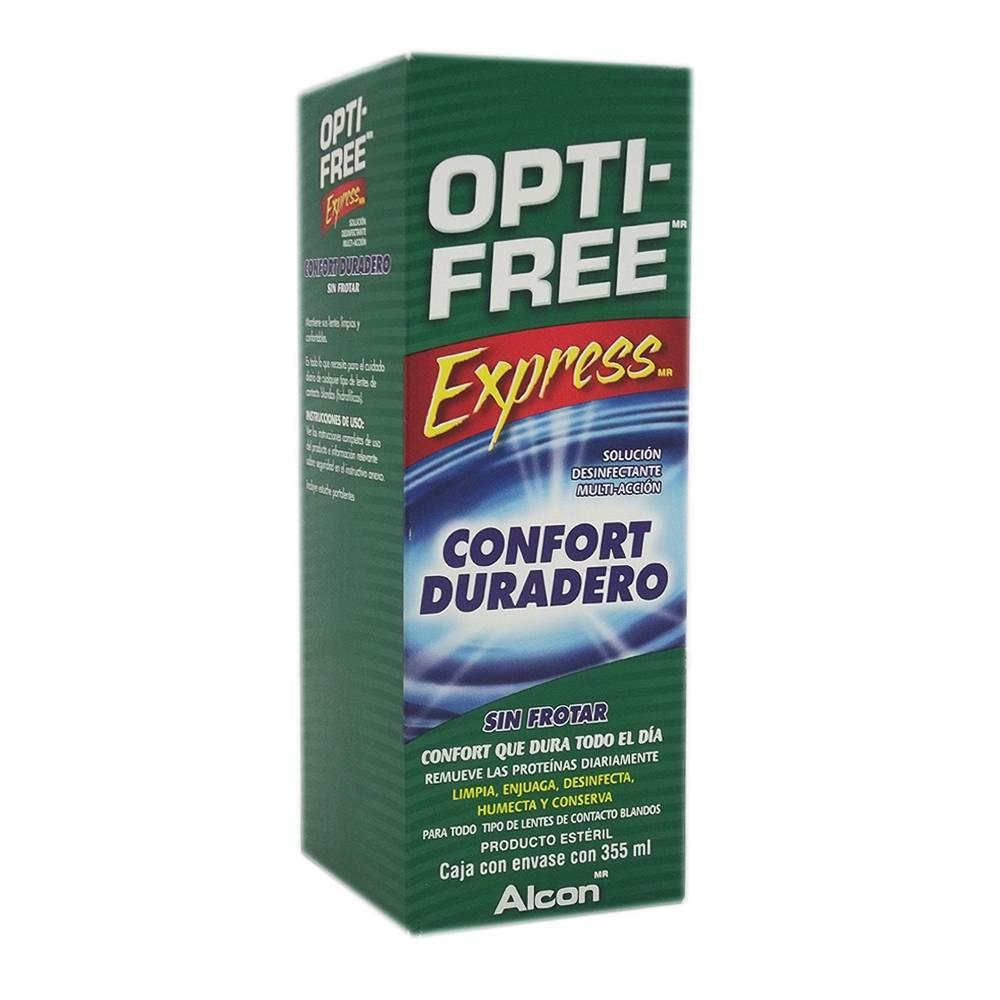64a8d9ed4e5a5 Solución para lentes de contacto Opti Free Express desinfectante multi  acción 355 ml