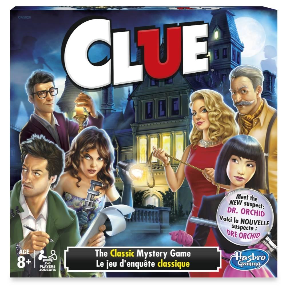 Clue El Clasico Juego De Misterio Hasbro Gaming Walmart