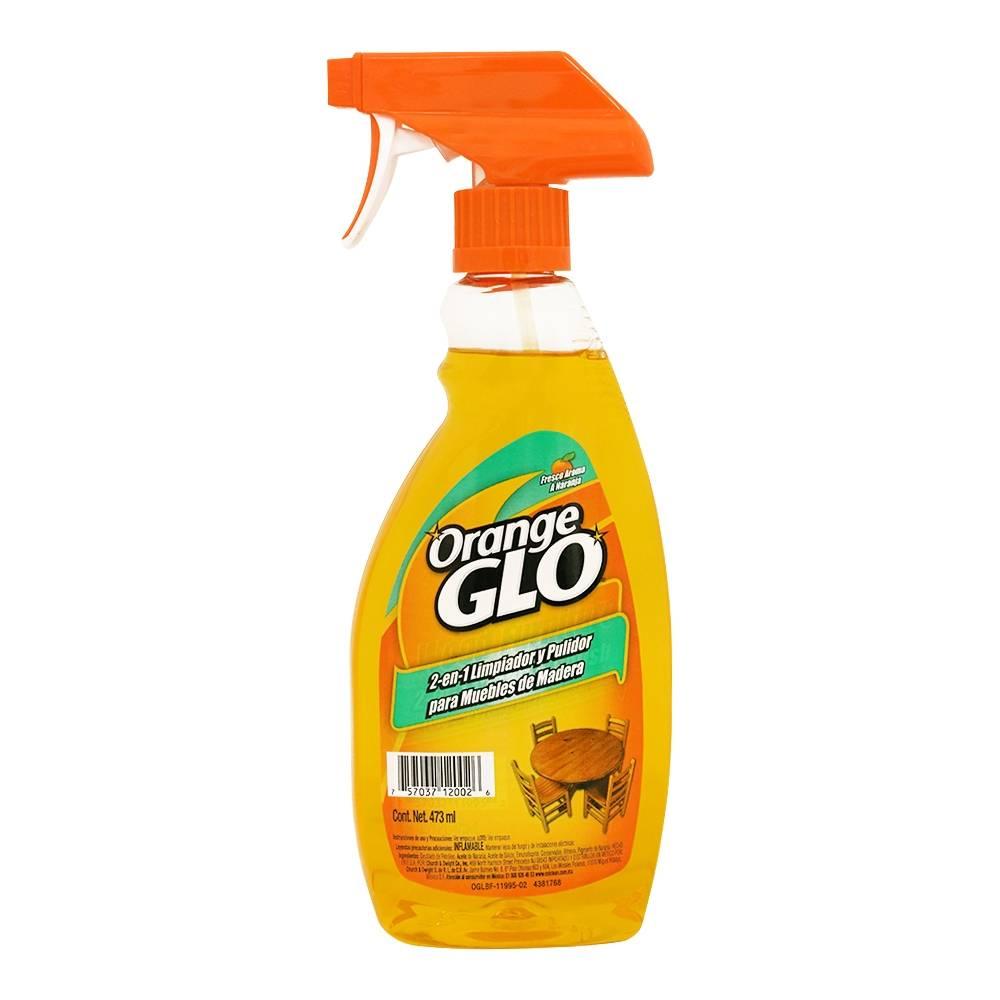 Limpiador para muebles Orange Glo de madera 2 en 1 aroma naranja 473 ...