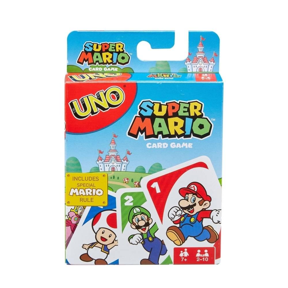 Juego De Cartas Uno Mattel Super Mario Walmart