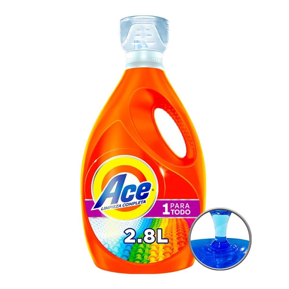 Detergente líquido, usado segunda mano