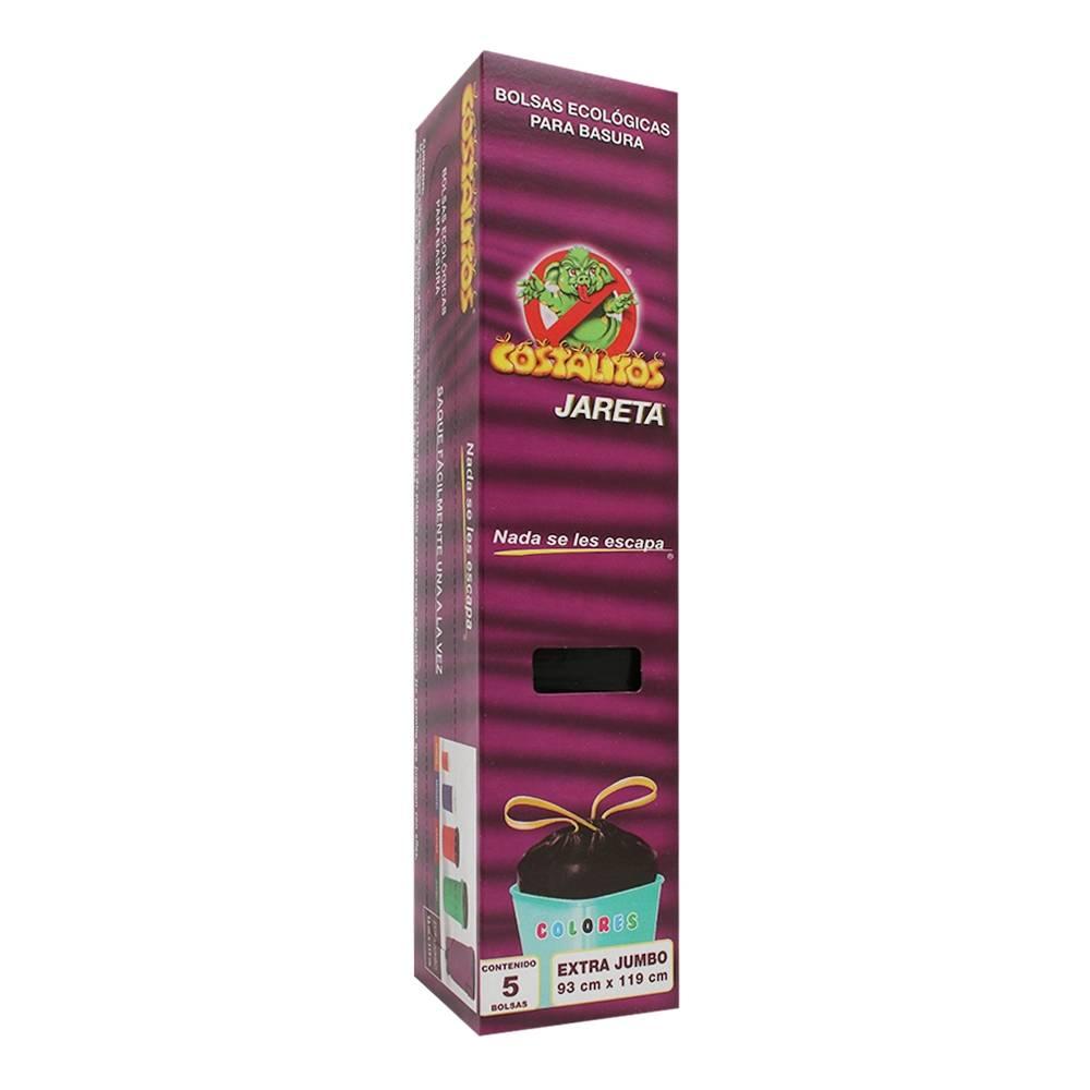 988b71740 Bolsas para basura Costalitos ecológicas con jareta extra jumbo 5 pzas