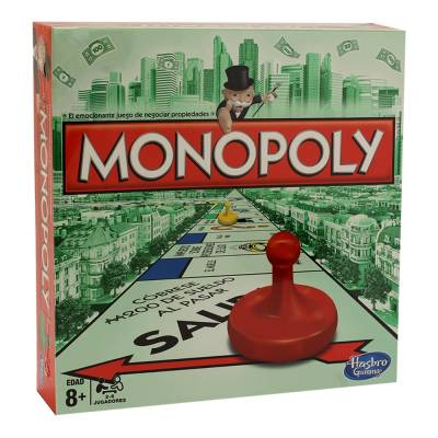 Juego De Mesa Hasbro Monopoly Walmart