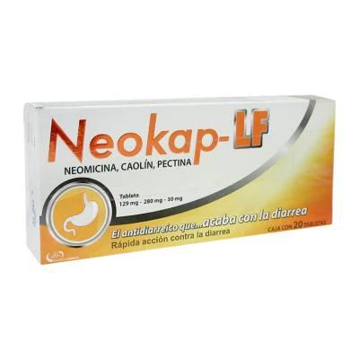 Neokap Lf 129 mg-280 mg-30 mg 20 tabletas | Walmart