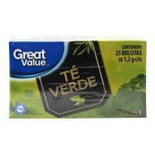 T verde great value 30 g walmart - Marcas de te ...