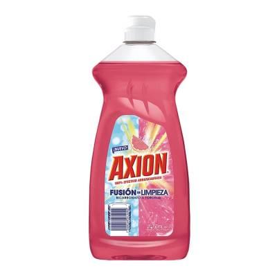 Lavatrastes líquido Axion fusión de limpieza bicarbonato