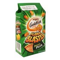 Galletas Pepperidge Farm Goldfish flavor blasted xplosive pizza 187 g