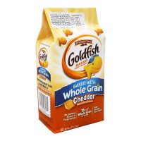 Galletas Pepperidge Farm Goldfish integrales con queso cheddar 187 g
