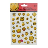 Stickers Trends Global smiley world 1 paquete con 2 pzas