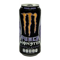 Bebida energética Monster Punch Energy mad dog 473 ml