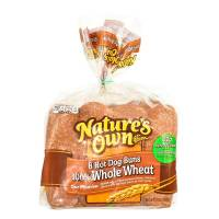 Pan para hot dog Natures Own 369 g