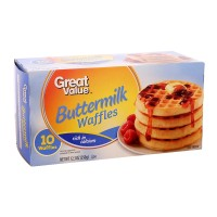 Waffles Great Value mantequilla 10 pzas 350 g