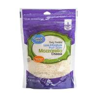Queso mozzarella World Table rallado 227 g