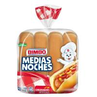 Pan para hot dogs Bimbo medias noches 300 g