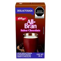 Producto lácteo Kellogg's All Bran deslactosada sabor chocolate 236 ml