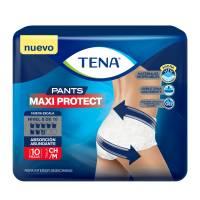f60df21bf Ropa interior para incontinencia moderada Tena pants chico mediano unisex  10 pzas