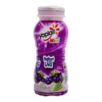 Yoghurt bebible Yoplait Mini con uva 100 g
