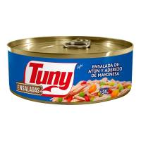 Ensalada de atún Tuny light 135 g