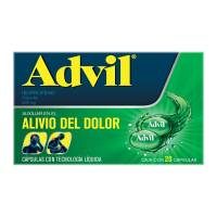 Advil 200 mg 20 cápsulas