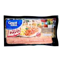 Tocino de pavo Great Value 18 rebanadas