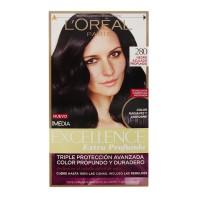 Tinte para cabello L Oréal Paris Imedia Excellence 280 negro azulado extra  profundo d1e96a14b64d