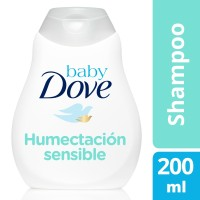 Shampoo Baby Dove humectación sensible  200 ml